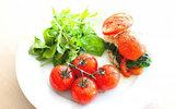 Tomaatje met spinazie_