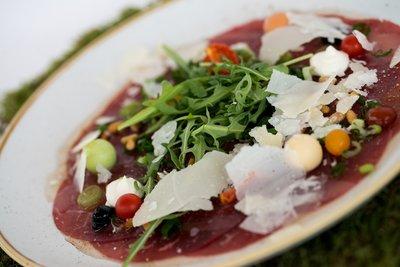 rundscarpaccio - chianina/parmesan/rucola