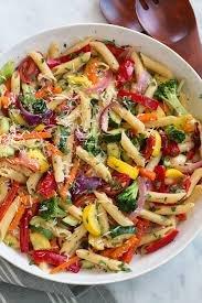 Wokschotel pasta met verse groenten